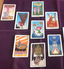 カード占いしてきました