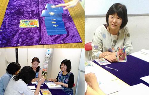 インナーチャイルドカード講座の教室の風景