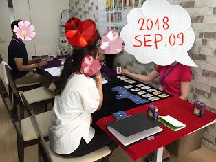 【教室の様子】銀座本校  タロット占い講座Part1
