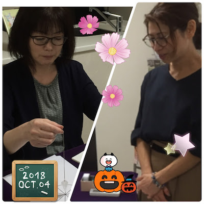 【教室の様子】銀座本校 ペンデュラム講座