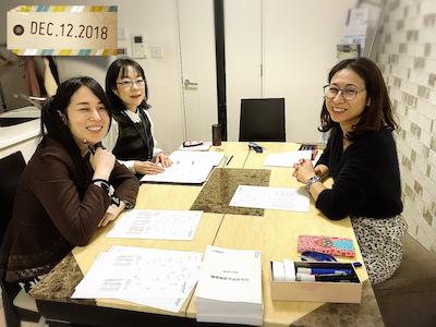 【教室の様子】銀座校 占い勉強会(西洋占星術)