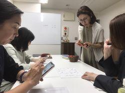 【教室の様子】銀座校 占い勉強会(占星術)