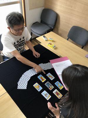 【教室の様子】名古屋校 タロット占い講座Part2