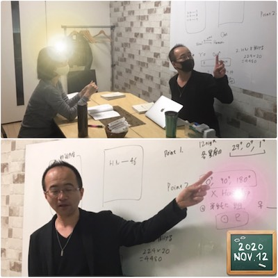 【教室の様子】銀座校 占い勉強会(西洋占星術3H)