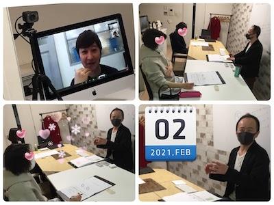 【教室の様子】銀座校&Zoom 話術の勉強会