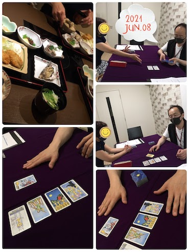【教室の様子】銀座校 タロット「打倒アドバイスカード」