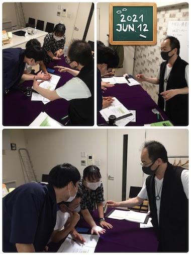 【教室の様子】銀座校 手相占い講座Part1