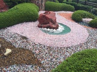 パワーストーンのお庭