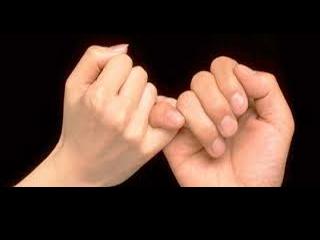 小指の約束/手相